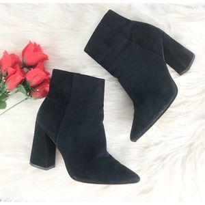 Vince Camuto Suede Booties 6M
